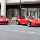 Porsche 996 and 993 911