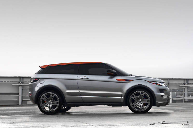 the range rover evoque tuning from a kahn design. Black Bedroom Furniture Sets. Home Design Ideas