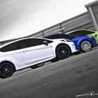 A Kahn Design Showcases its new Cosworth wheels on their Ford Lineup