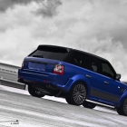 A Kahn Design Imperial Blue Cosworth Edition Range Rover