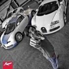 Afzal Kahn and Bugatti Veyrons