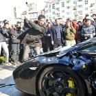 Mad Lamborghini Owner