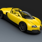 Bugatti Veyron Grand Sport Yellow and Black Carbon