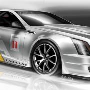 Cadillac CTS-V Coupe Race Car