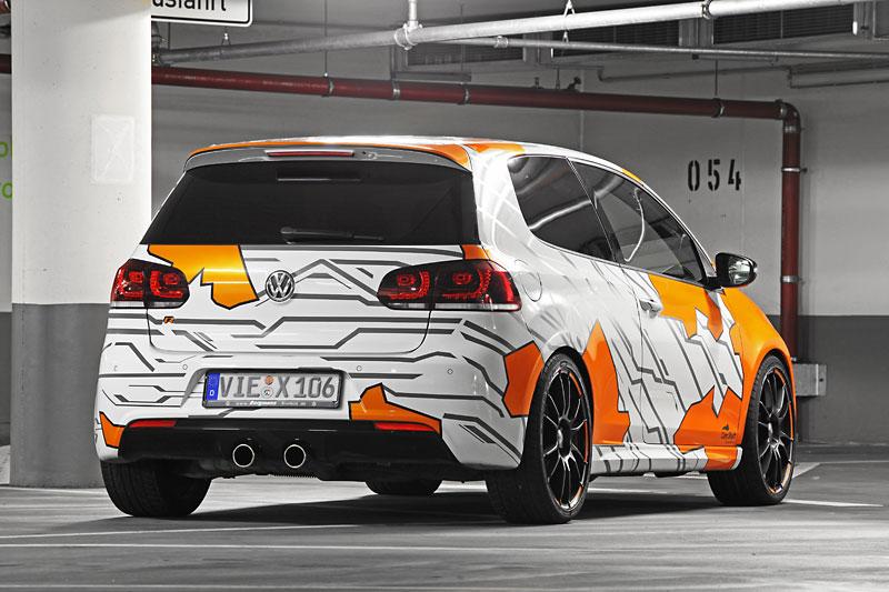 cam shaft wraps  volkswagen golf   electric orange