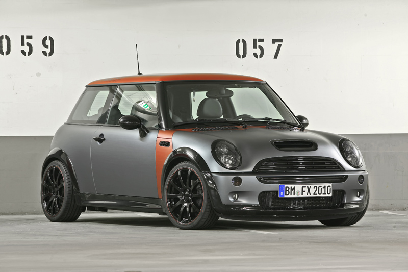 coverefx r53 mini cooper s has a new look. Black Bedroom Furniture Sets. Home Design Ideas