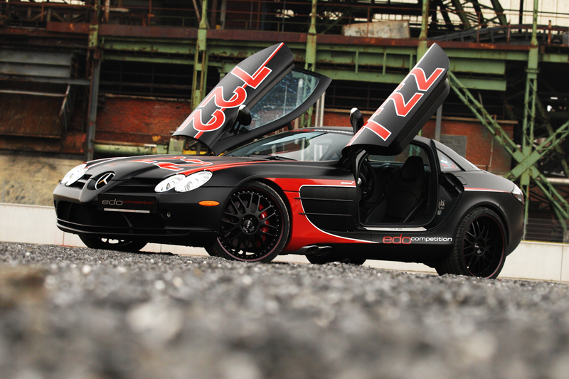 Edo Competition Mercedes Benz Slr Mclaren 722 Black Arrow Exposed