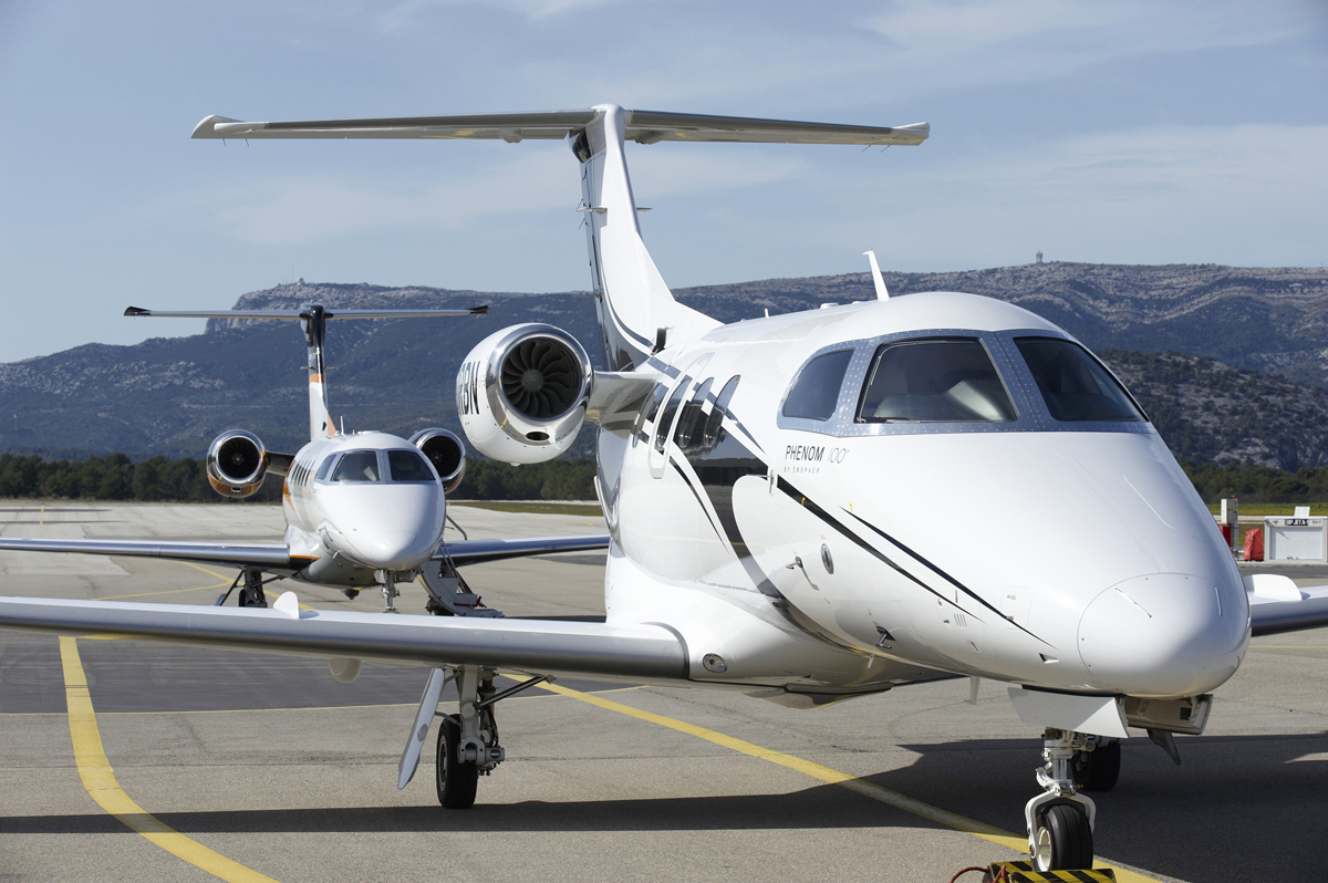 Embraer Phenom 100 And Phenom 300 Exposed