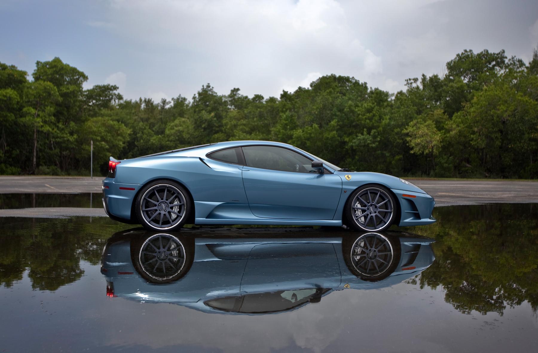 Pirelli Nero >> Ferrari F430 Scuderia w/ Axiom AX-MS01 Wheels on Featured Fitment