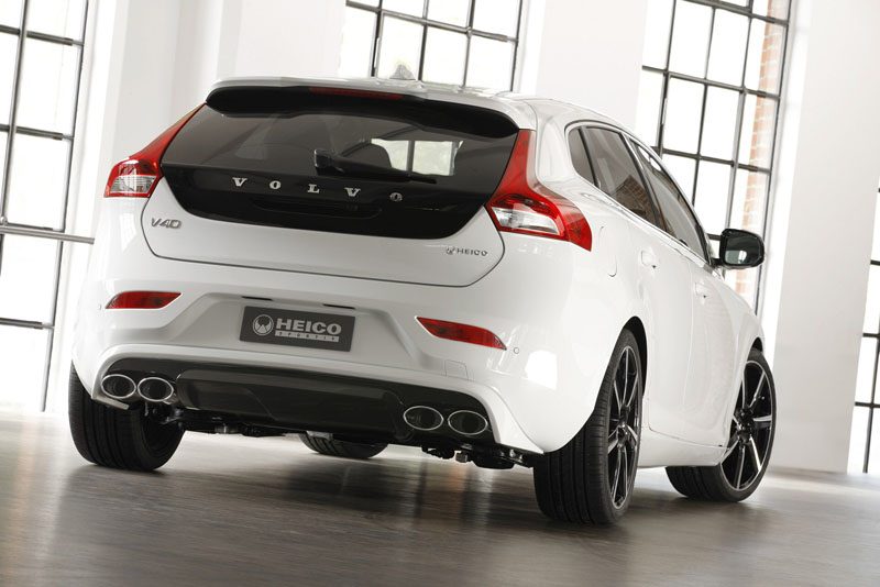 Heico Sportiv unveils their new Volvo V40 Tuning Program