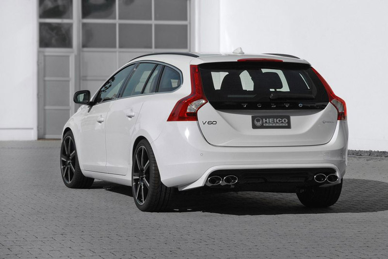 the new heico sportiv volvo v60 d3 is all about swedish performance. Black Bedroom Furniture Sets. Home Design Ideas
