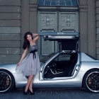 Inden Design Mercedes-Benz SLS AMG with Katja Runiello