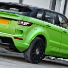Kahn Evoque RS250 Lamborghini Green