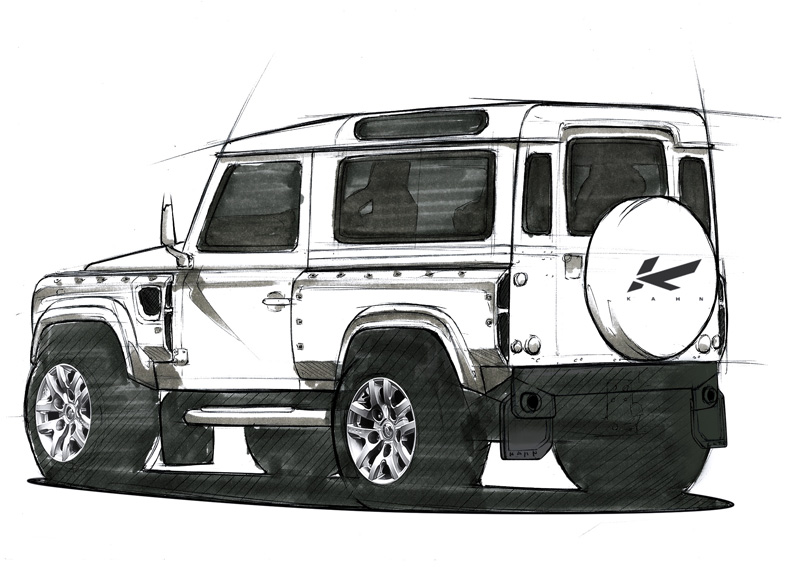 The A Kahn Design Land Rover Defender Concept 17 Is Ready