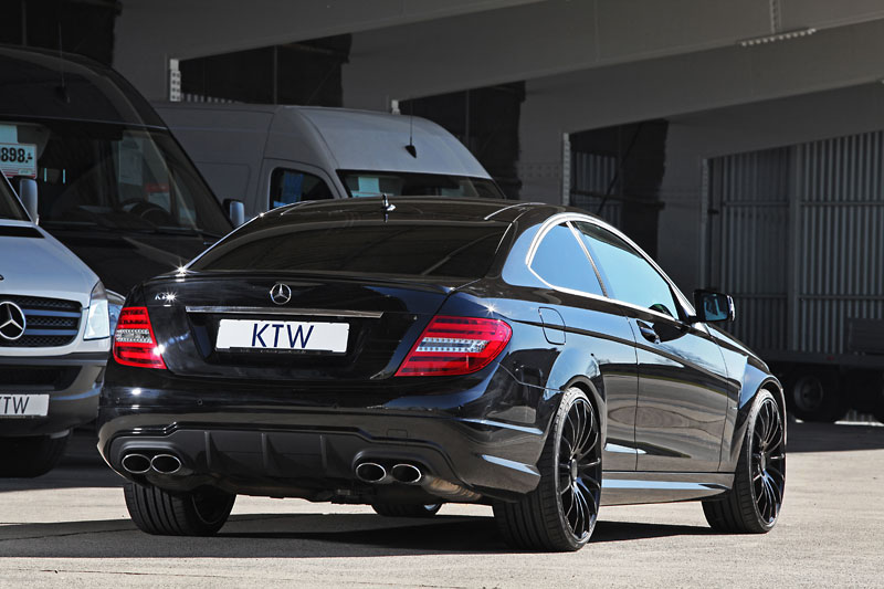 KTW Tuning Gives the Mercedes-Benz C63 AMG a Little Tune