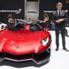 Lamborghini Aventador J in Geneva