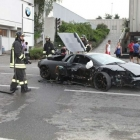 Lamborghini BMW Dealership Crash