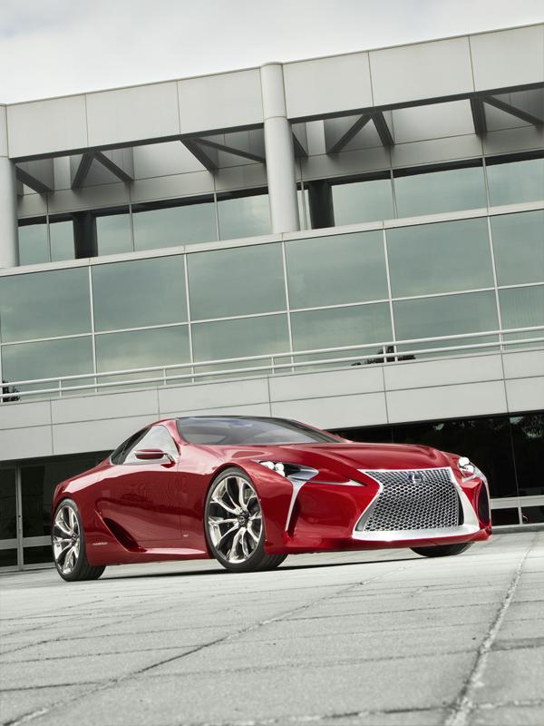 Lexus LF LC Hybrid Sports Car Concept
