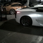 Lexus LFA Crash