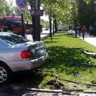 Mansory Porsche Panamera Crash