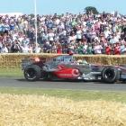 McLaren MP4-25 and Lewis Hamilton 2007
