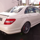 Mercedes-Benz C63 AMG Rear-Side View
