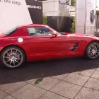 Mercedes-Benz SLS AMG Side View 2010