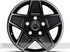 Mondial Wheels in Satin Black