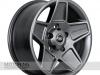 Mondial Wheels in Rugged Satin Grey