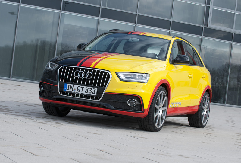 the new mtm audi q3 tuning program is all about power and. Black Bedroom Furniture Sets. Home Design Ideas