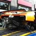 Pagani Zonda Crash