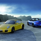 Porsche 911 Carrera 4 GTS Coupe and Cabriolet