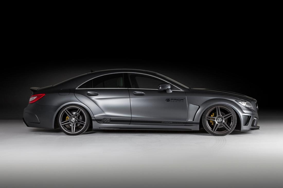 The prior design mercedes benz cls pd550 black edition for Mercedes benz black edition