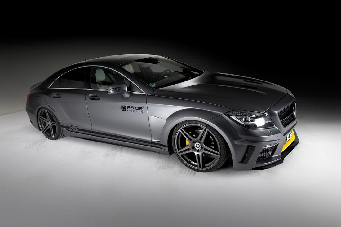 The prior design mercedes benz cls pd550 black edition for Mercedes benz design