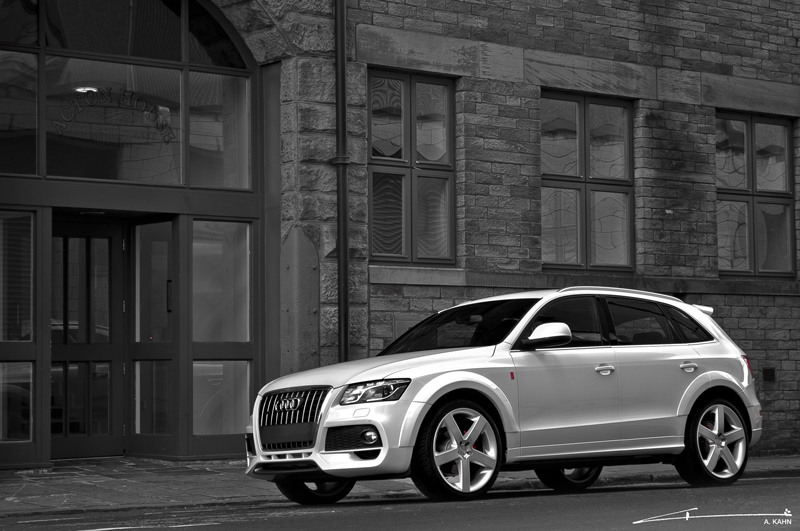 project kahn introduces audi q5 s line package. Black Bedroom Furniture Sets. Home Design Ideas