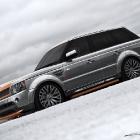 Project Kahn Range Rover Vesuvius Orange and Orkney Grey