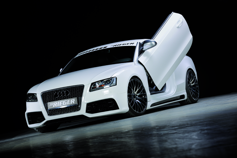 the new rieger tuning audi a5 body kit. Black Bedroom Furniture Sets. Home Design Ideas