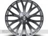 RS-XF Wheel in Diamond Cut (shown with optional Aston Martin cap)