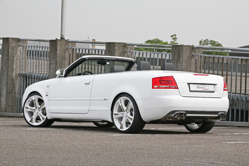The New Sport Wheels Audi A4 Cabriolet B78he Tuning