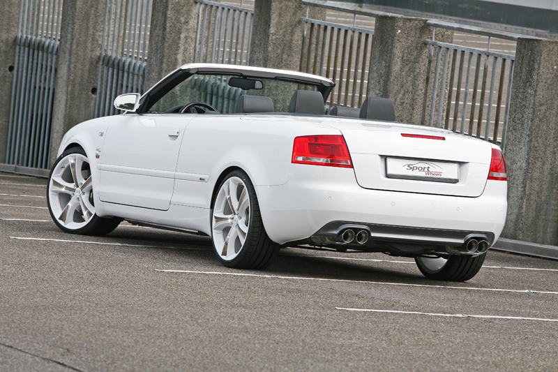 the new sport wheels audi a4 cabriolet b7 8he tuning. Black Bedroom Furniture Sets. Home Design Ideas