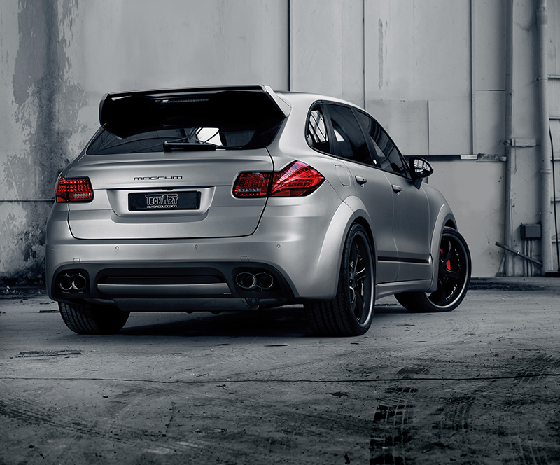 Techart Gets Crazy With The New Magnum Porsche Cayenne Turbo