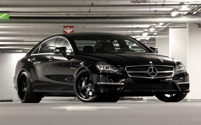 Benz Cls63 Amg Coupe Black