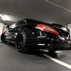 wheelsandmore black CLS63 AMG
