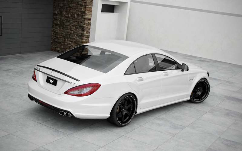 the wheelsandmore cls 63 amg mercedes benz gets tuned. Black Bedroom Furniture Sets. Home Design Ideas
