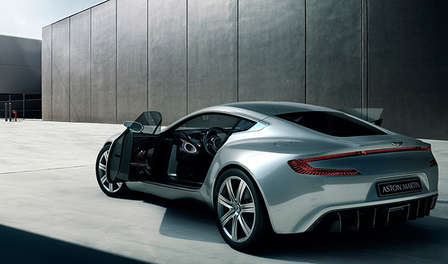 Aston Martin One 77 Exposed
