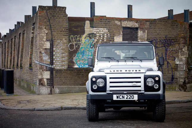 2011 Land Rover Defender X Tech Limited Edition. The new X-Tech limited edition