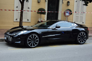 Aston Martin One-77 Delivery