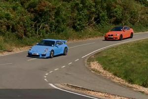 BMW M3 GTS vs. Porsche 911 GT3