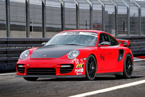 Wimmer Porsche 911 GT2 RS at Hockenheimring