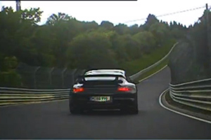Porsche 911 GT2 vs Mitsubishi Evolution at the Nürburgring